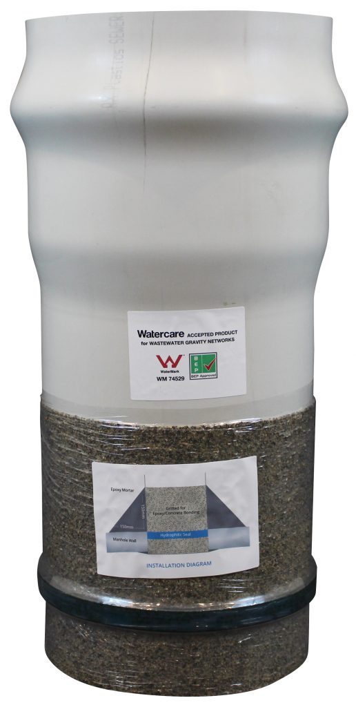A picture of a PVC glitter started also known as a hydro starter.