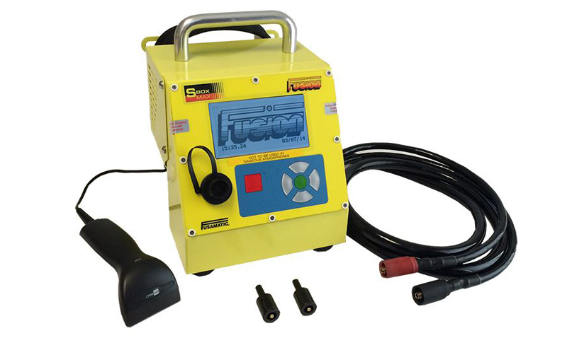 An image of a Data Logging E/F S box Welder for Electrofusion welding.