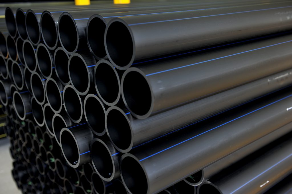 An image of a Solo supply PE pipe.