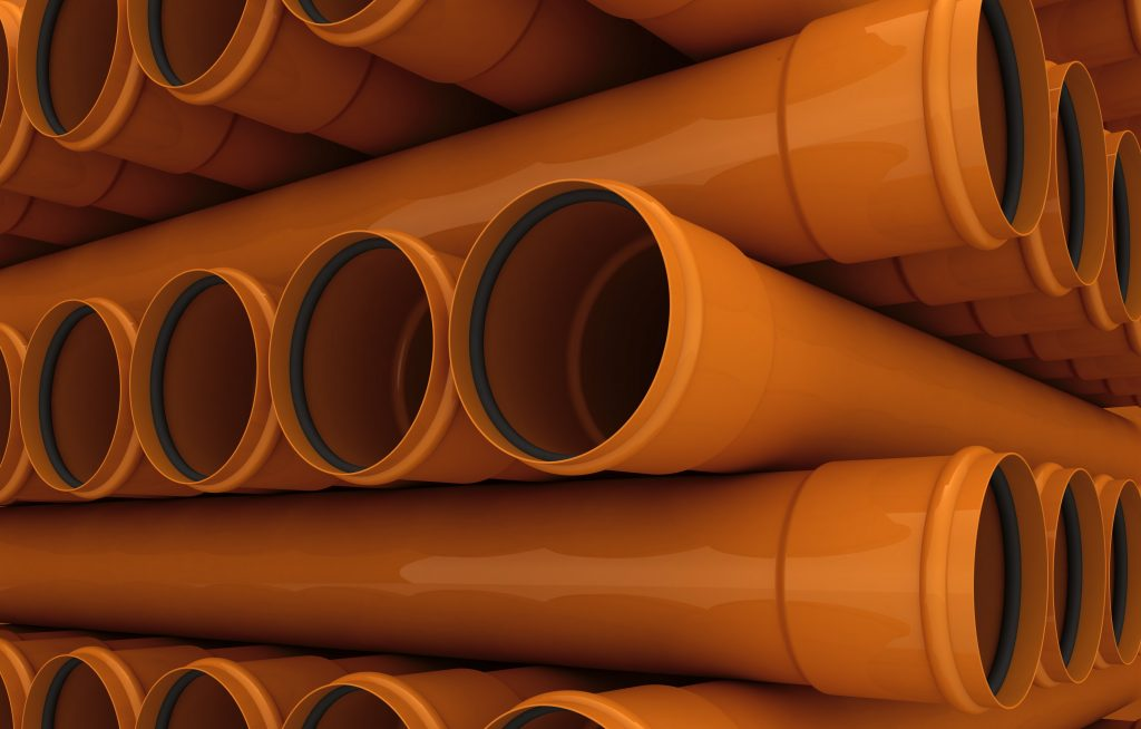An image of a PVC pipe manufactured by Solo.