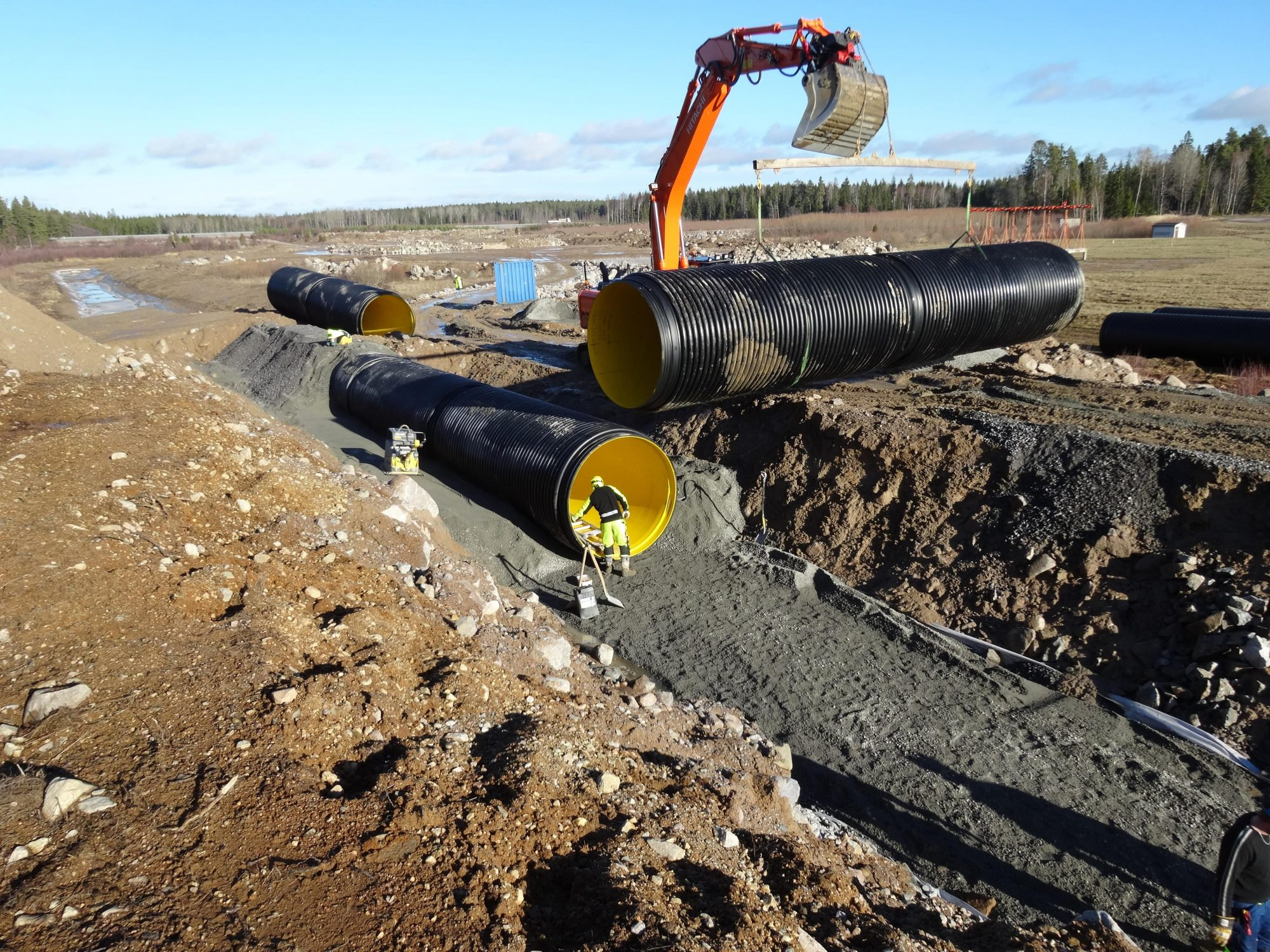 Infrapipe for sewer / stormwater applications