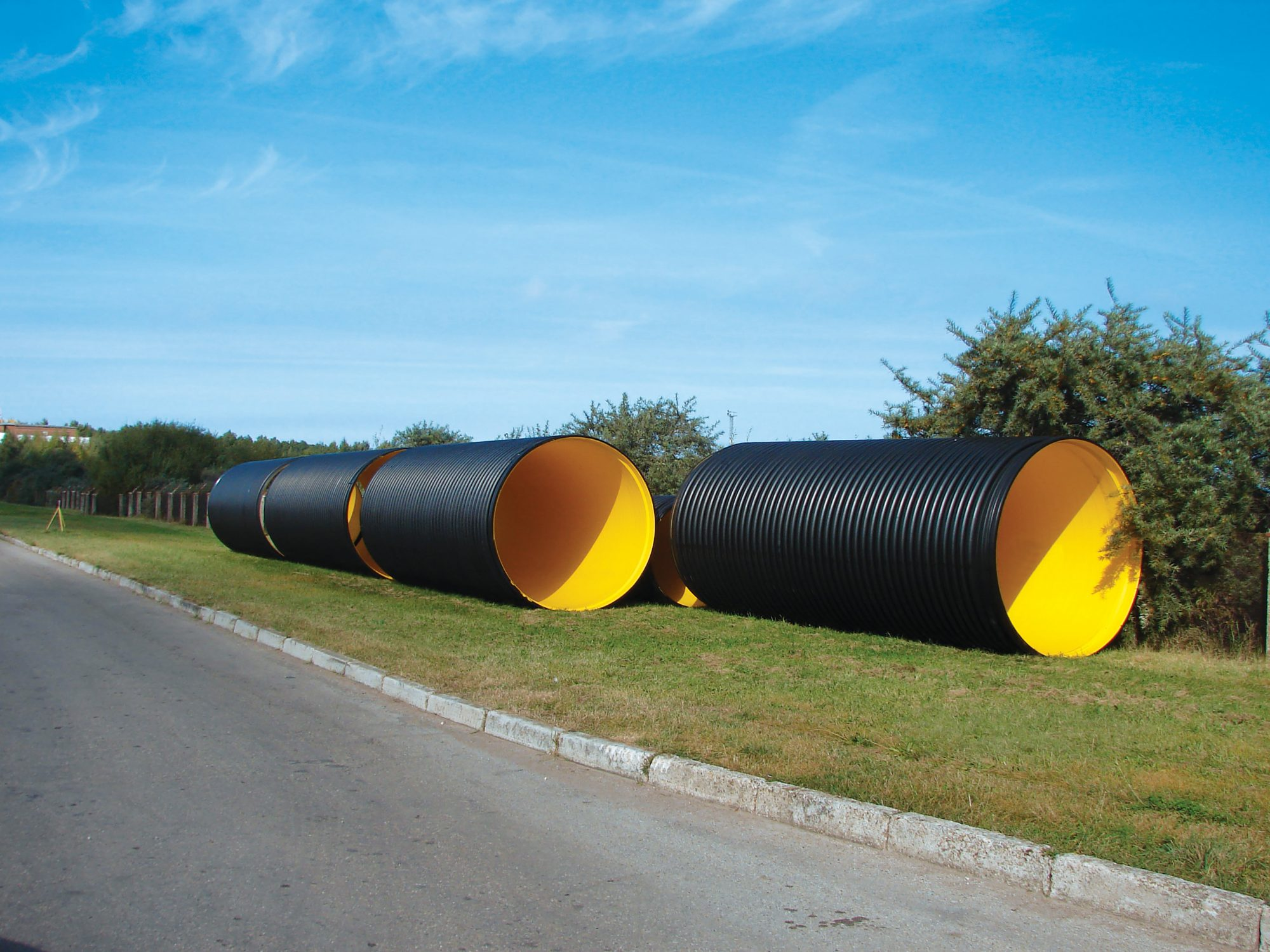 PE pipes manufactured by Solo Plastics
